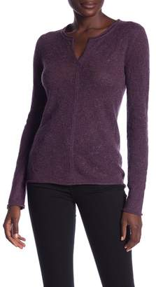 Inhabit Cashmere Lace Pullover