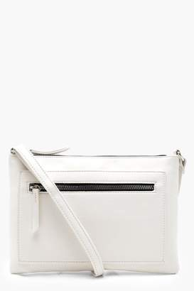 boohoo Zip Pocket Cross Body Bag
