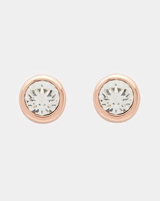 Ted Baker SINAA Swarovski crystal stud earrings