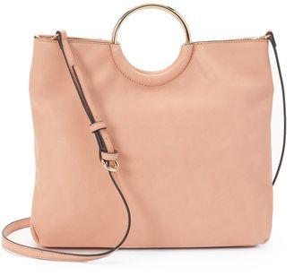 LC Lauren Conrad Ring Convertible Crossbody Bag $69 thestylecure.com