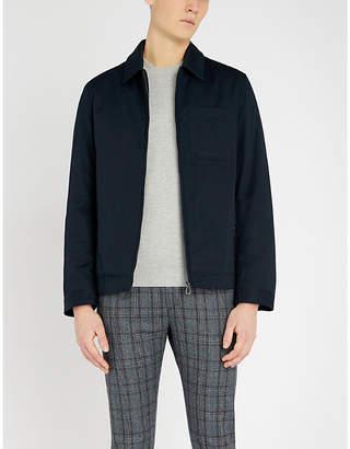 Ted Baker Trull textured sleeve cotton-blend jumper