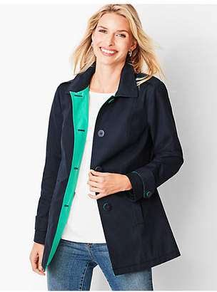 Talbots Cotton Twill Coat