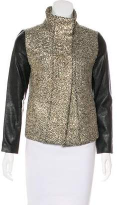 Generation Love Metallic Bouclé Jacket