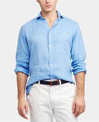 Polo Ralph Lauren Men Classic Fit Lighthouse Linen Shirt