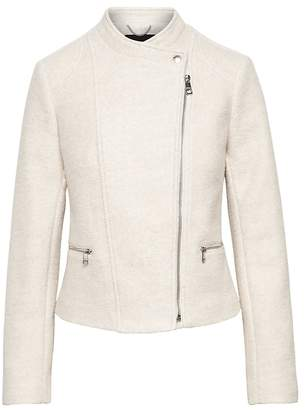 Banana Republic Bouclé Moto Jacket