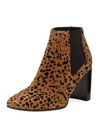 Rag & Bone Aslen Cheetah-Print Suede Booties