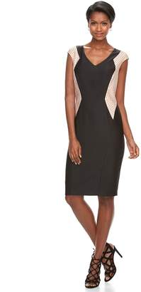 Jax Women's Colorblock Sheath Dress