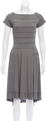 Derek Lam Striped Midi Dress
