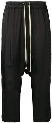 Rick Owens crop track trousers