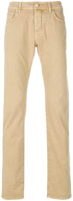 Jacob Cohen classic fitted chinos