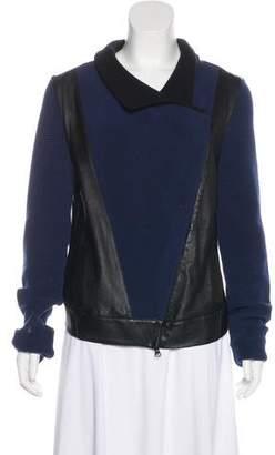 Ohne Titel Wool Leather Jacket
