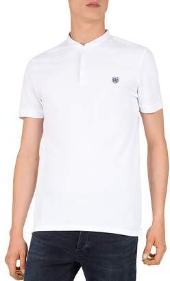 The Kooples New Shiny Pique Slim Fit Polo