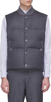 Thom Browne Stripe down puffer vest