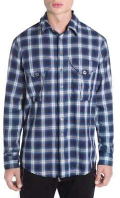 DSQUARED2 Plaid Military-Fit Shirt