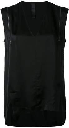 Ilaria Nistri zip detail shift blouse