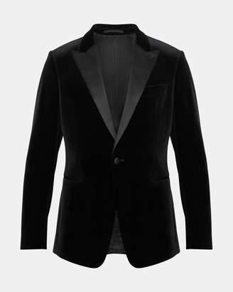 Theory Velvet Chambers Tuxedo Jacket