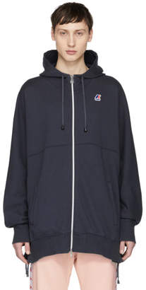 Faith Connexion Navy K-WAY Edition Laced Hoodie