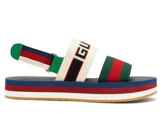 Gucci - Bedlam Logo Strap Sandals - Mens - Multi