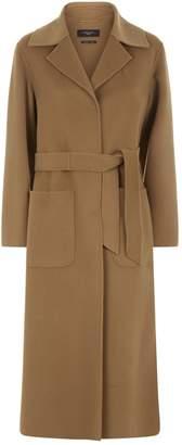 Max Mara Tie Waist Long Coat
