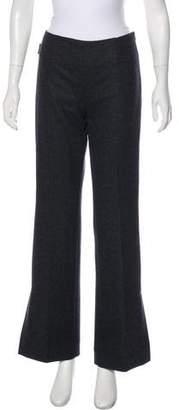 Moncler Virgin Wool Wide-Leg Pants w/ Tags
