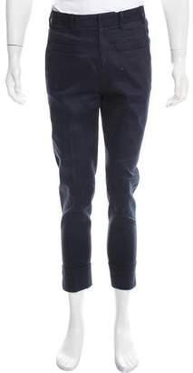 Neil Barrett Skinny Twill Dress Pants