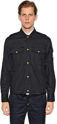 Moncler Gamme Bleu Cotton Muslin Shirt Jacket