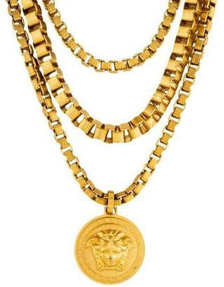 Versace Medusa Multistrand Necklace