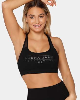 Lorna Jane Racer Longer Line Sports Bra