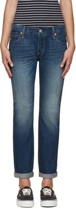 Levi's Blue 501CT Jeans $95 thestylecure.com