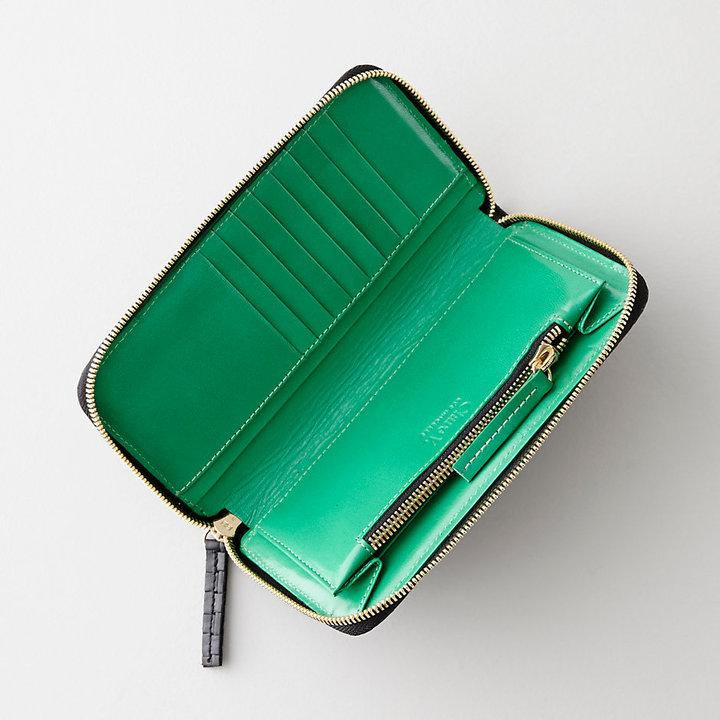 Steven Alan CLARE V. long zip wallet