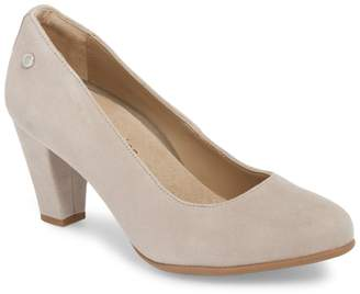 Hush Puppies Minam Meaghan Almond Toe Pump - Wide Width Available