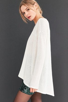 Kimchi Blue Blaire High/Low Tunic Sweater $49 thestylecure.com