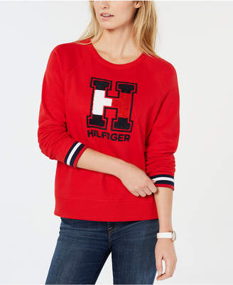 Tommy Hilfiger Chenille Logo Sweater