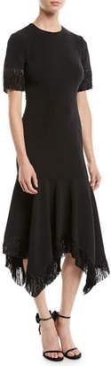 Sachin + Babi Valler Handkerchief Dress w/ Fringe
