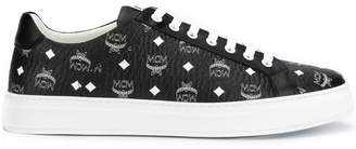 MCM logo low-top sneakers