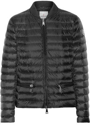 Moncler - Blen Quilted Shell Down Jacket - Black $995 thestylecure.com