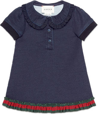 Baby jersey denim dress $290 thestylecure.com
