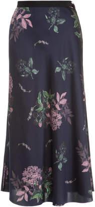 Lake Studio M'O Exclusive Floral Midi Skirt