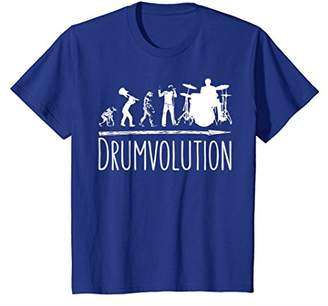 Drumvolution T-Shirt for Drumming and Rehearsals
