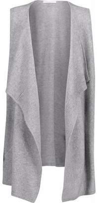 Duffy Pointelle-Knit Cashmere Vest