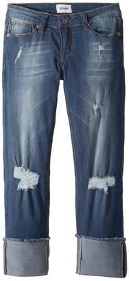 Hudson Jessa Skinny Roll Cuff Crop in Jetty Girl's Jeans