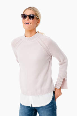 Brochu Walker Lilac Ash Layered Pullover