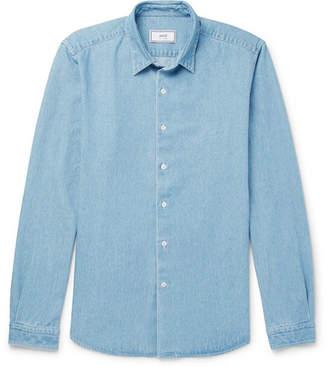 Ami Washed-Denim Shirt