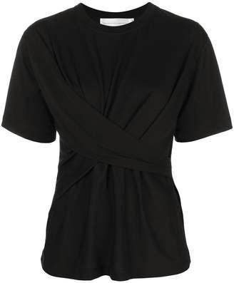 Victoria Beckham Victoria draped T-shirt