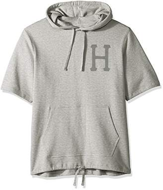 HUF Men's 3 M Classic H Short Sleeve Fleece Hoodie