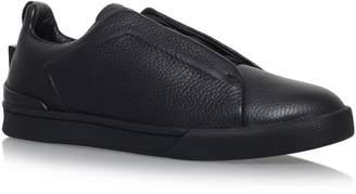 Ermenegildo Zegna Leather XXX Elastic Sneakers