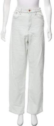 Etoile Isabel Marant Light Wash High-Rise Jeans