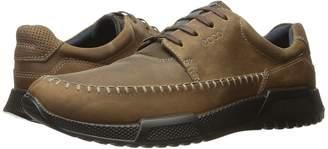 Ecco Luca Moc Toe Tie Men's Lace Up Moc Toe Shoes
