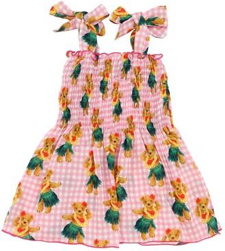 MC2 Saint Barth Bear Print Viscose Dress
