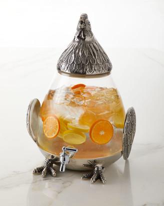 Star Home Designs Rooster Drink Dispenser